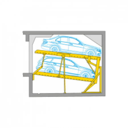 Parklift 340 Semi Automatisch Parkeersysteem