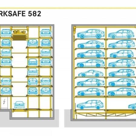 Parksafe 582 Volautomatisch Parkeersysteem