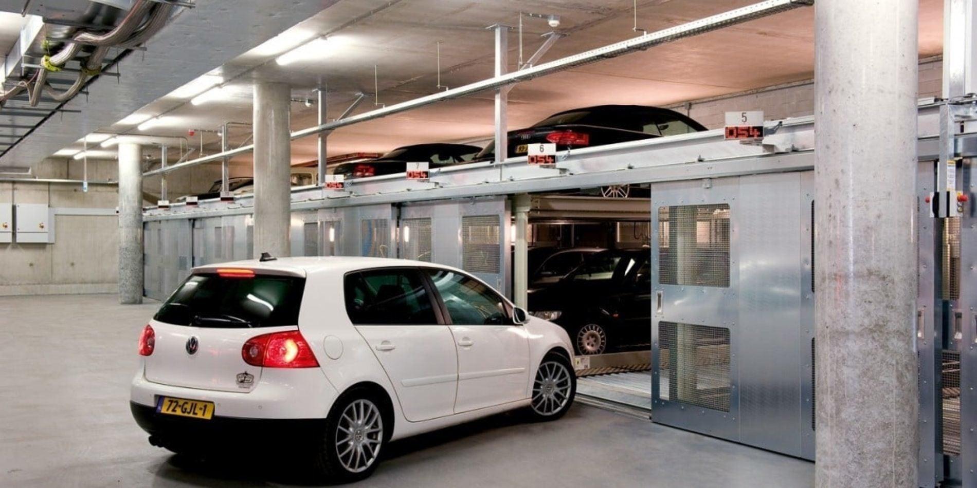 Woehr Combilift543 Autoparksystem Carparkingsystem 4097F969